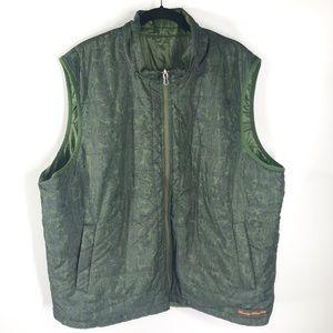 ROBERT GRAHAM Lagoon Puffer Reversible Vest